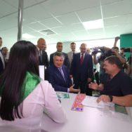 Министр МВД Украины Арсен Аваков открыл в Одессе новый сервисный центр
